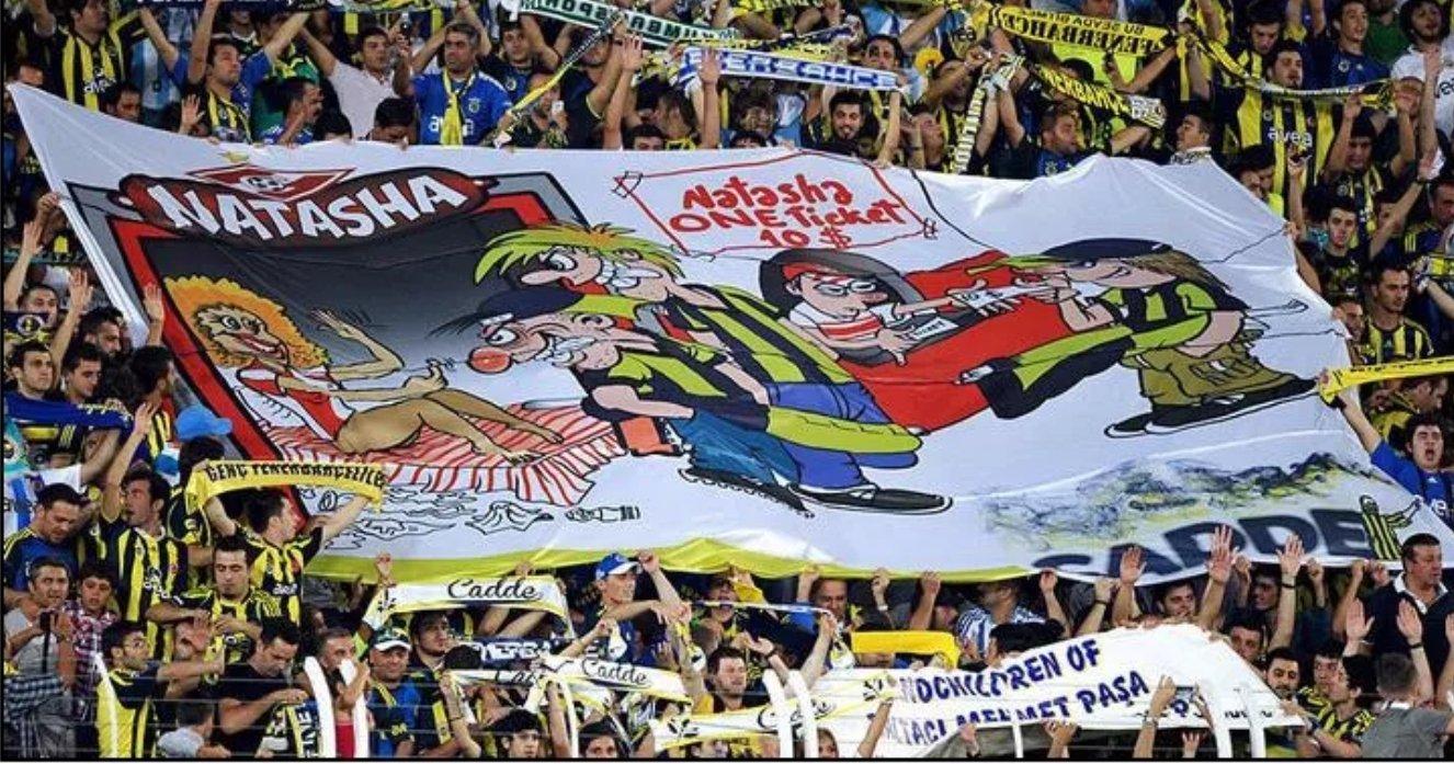 Баннер футбол Наташа